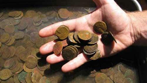 В Италии найден клад карфагенских монет