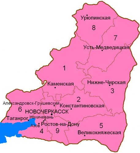 Округа Области Войска Донского
