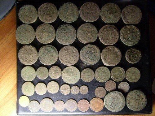 Клад монет