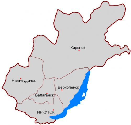 Округа Иркутской губернии
