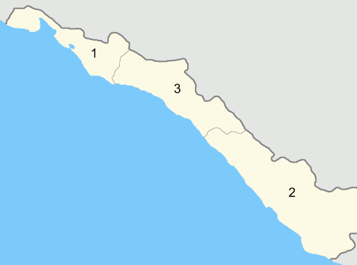 Округа Черноморской губернии