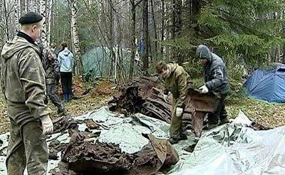 Поисковики нашли военный бомбардировщик